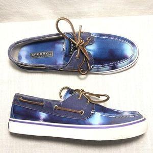 Sperry Top Side Tie Dye Canvas Boat Shoe